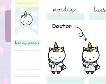 Petitcorn-Dearmyplanner-Doctor Petitcorn (dm17-018)