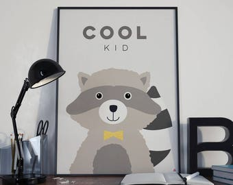 Deco poster Cool kid baby room