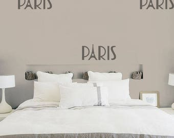 Paris France Wall Decal