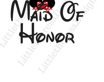Maid Of Honor Wedding Transfer