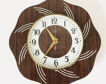 FEATURED wall clock / vintage / 1970