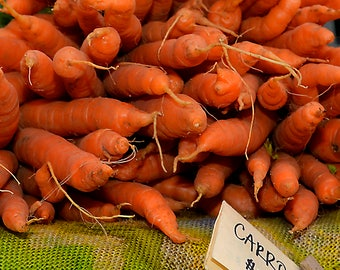 Carrots at the Farm Stand