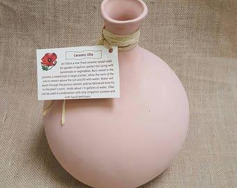 Handmade Ceramic Olla - Garden Water Pot