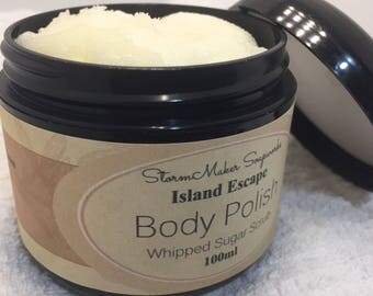 Body Polish - Sugar Scrub, Natural Skin Care