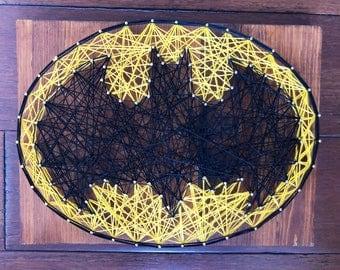 Batman String Art