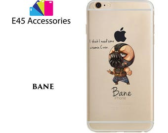 BANE - Marvel Super Heros Hard Case for iPhone 5S 5 SE, iPhone 6S 6 or iPhone 7
