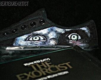 Custom Trainers: Horror Story Art The Exorcist