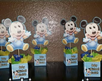 Baby Mickey Mouse INSPIRED centerpieces