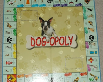 Dogopoly Board For Wall Hanging Replacement Part Arts And Crafts Collage Dog