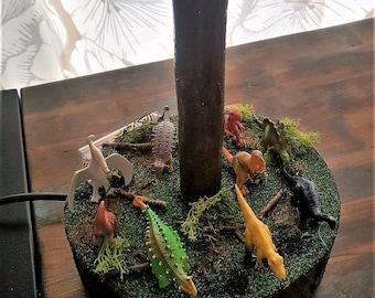 Mini Dinosaur Lamp