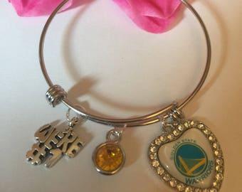 Golden  State Warriors charm bracelet