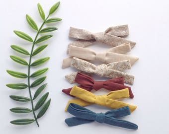 Regular School Girl Bows/  Nylon Baby Headband/Girl Headband/ Cotton Bow Headband/ Headbows/ Girls bows/ Fall Bows