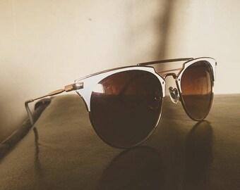 Retro look sunglasses