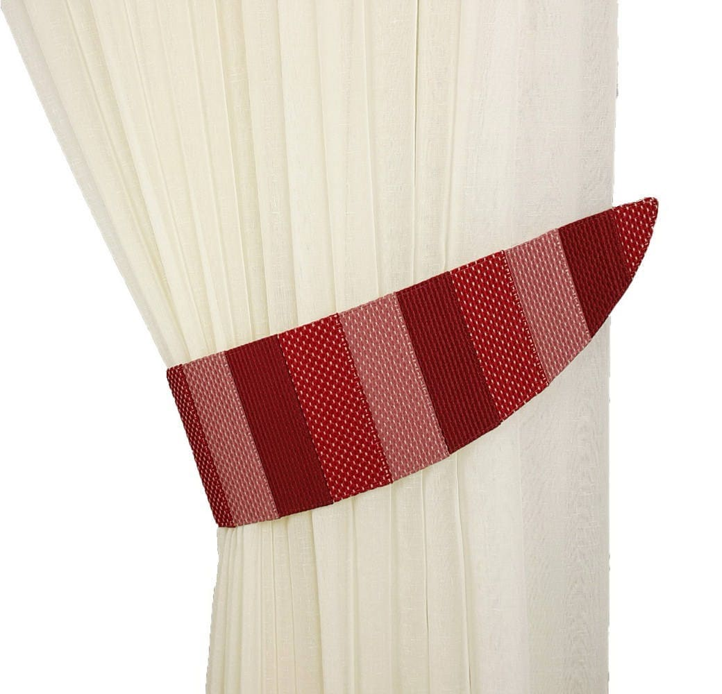 Drape Ties: Fabric Tie Backs Drapery Tiebacks Curtain Tiebacks Tie