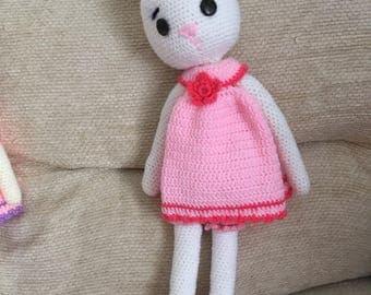 Amigurumi Bunny sisters crochet