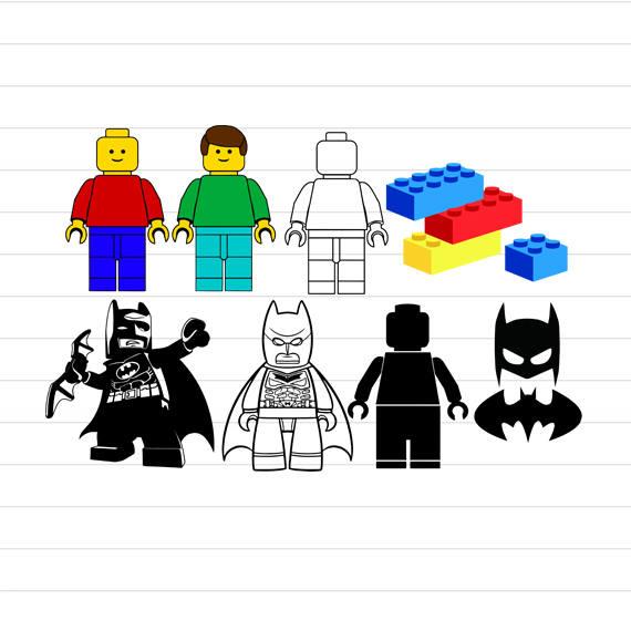 Download INSTANT DOWNLOAD Lego Svg Lego Batman Svg Lego Svg Files