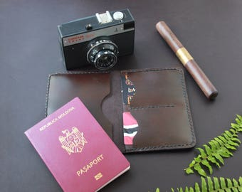 PDF Cover leather passport cover PDF leather passport holder passport wallet travel wallet passport covers passport case travel accessories