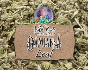 Damiana Leaf (Turnera diffusa) {{Organically Grown)
