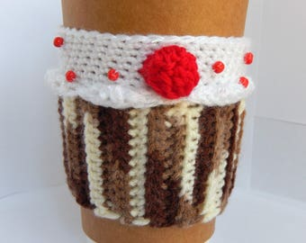 Cupcake Coffee Cup Cozy