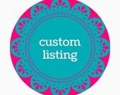 Custom Listing for HW : Rainbow Alphabet Rocks