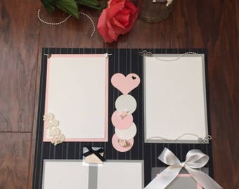 Wedding scrapbook   Etsy. Premade Wedding Scrapbook. Home Design Ideas