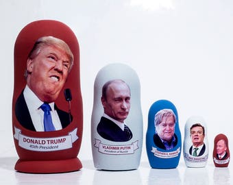 Trump as Russia's Nesting Doll