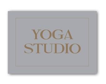 Yoga Studio, Yoga Sign, Yoga Gift