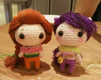 Crochet super girl toy for kid,girlfriend,gift,play(It is a price for one)