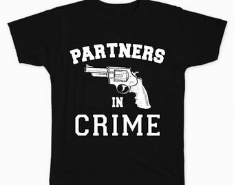 Partners In Crime (Right) T-shirt