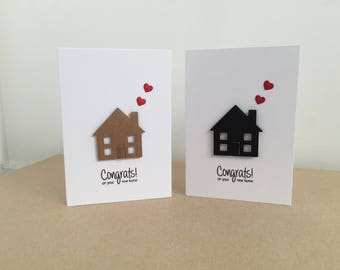 Congrats On Your New Home Handmade Notecard