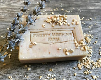 Oatmeal Milk & Honey Handcrafted Cold Process Soap