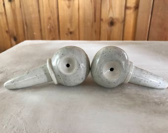 Grey Speckled Pipes