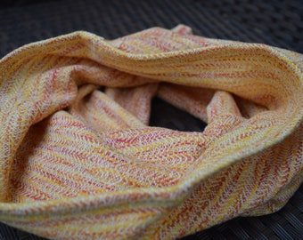 Handwoven cowl/ tube scarf