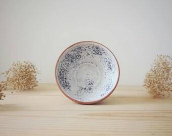 Pottery clay bowl. Fruit bowl. Ice cream bowl. Lead free glaze.