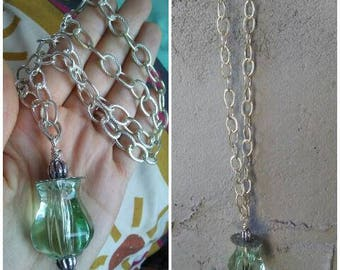 Chunky Necklace Chunky Silver Costume Jewelry Necklace Chunky Jewelry Steampunk Necklace Boho Necklace