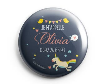 BADGE child - Unicorn-