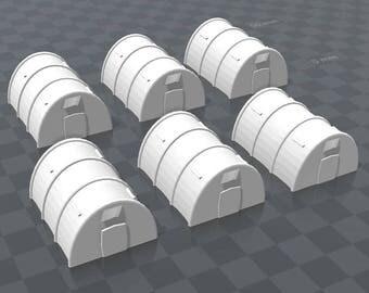 x6 Army Tents - Variation B