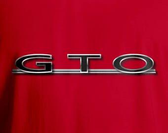 Pontiac GTO T-Shirt, Men's T-Shirt, Women's T-Shirt, Muscle Car T-Shirt, GTO T-Shirt, American Car T-Shirt, Classic Car T-Shirt,