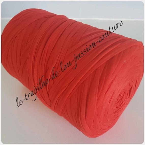 Bobine De Trapilho Rouge Oranger 1