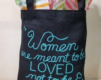 Totes with Quotes - Oscar Wilde