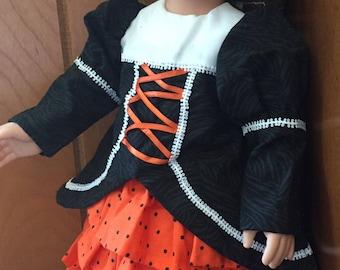 Halloween Dress for Doll