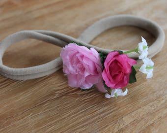 Baby Roses Headband