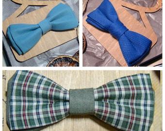 Bow Tie   Bowtie   Celestial blue   Blue   Green