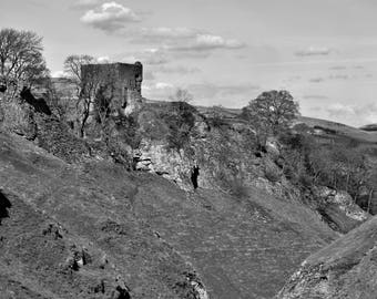 Castleton Black and White Photographic Print