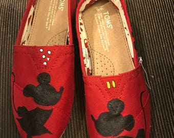 Minnie and Mickey vintage toms