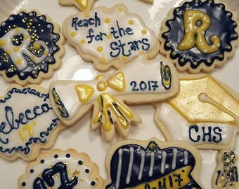 12 Graduation Party Cookies