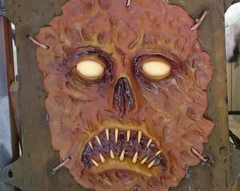 Evil dead Necronomicon face panel .