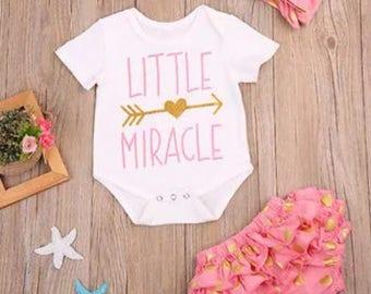 Baby girls outfit set - vest bloomer set