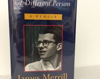 A Different Person, Signed First Edition by James Merrill