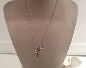 Handcrafted Initial Charm Necklace